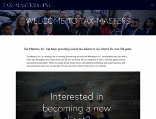 tax-masters.com screenshot