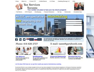 tax-services-toronto.com screenshot