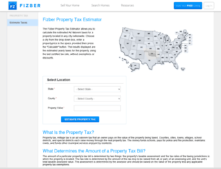 tax.fizber.com screenshot