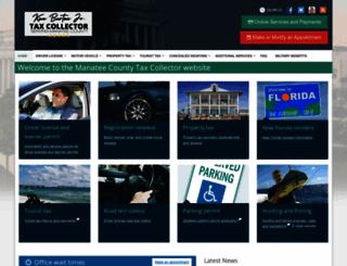 taxcollector.com screenshot