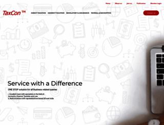 taxconindia.com screenshot