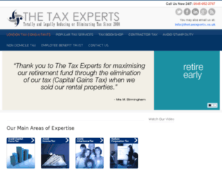 taxconsultantslondon.co.uk screenshot