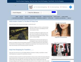 taxfreetravel.com screenshot