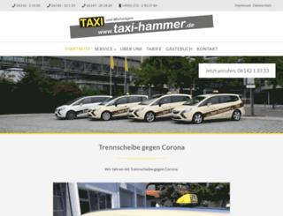 taxi-hammer.de screenshot