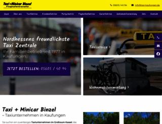 taxi-kaufungen.de screenshot