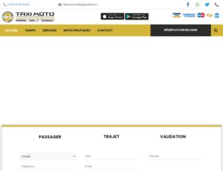 taxi-moto-paris-orly-roissy.fr screenshot