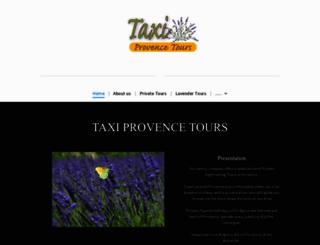 taxi-provencetours.com screenshot