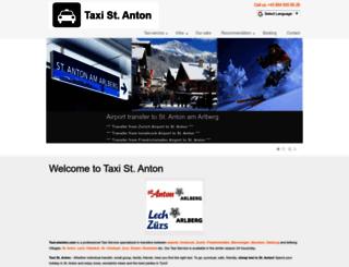 taxi-stanton.com screenshot