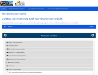 taxi-versicherungsvergleich.de screenshot