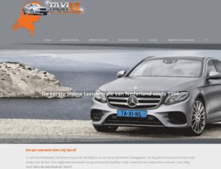 taxi.nl screenshot