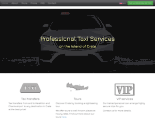 taxiairportheraklion.com screenshot