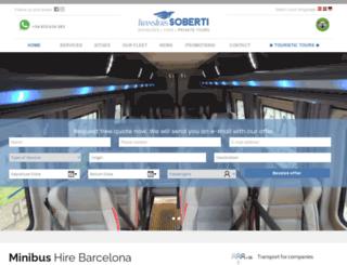 taxibarcelonatransfer.com screenshot