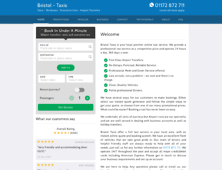 taxibristol.co.uk screenshot