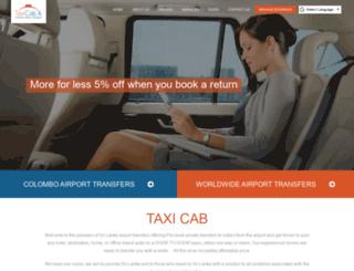 taxicab.lk screenshot