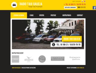 taxigalicja.pl screenshot