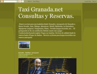taxigranada.blogspot.com screenshot