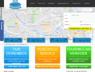 taxigroningen.nl screenshot
