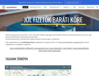 taximaxi.fw.hu screenshot