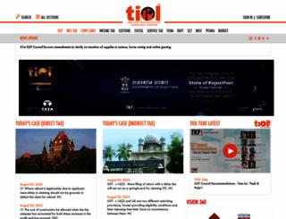 taxindiaonline.com screenshot