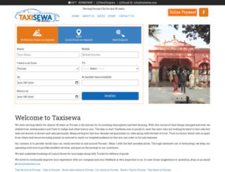 taxisewa.com screenshot