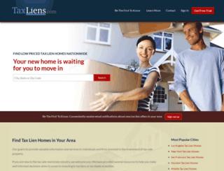 taxliens.com screenshot