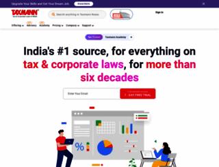taxmann.com screenshot