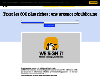 taxonsles500plusriches.wesign.it screenshot
