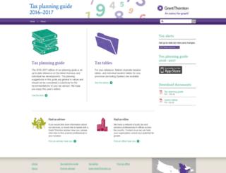 taxplanningguide.ca screenshot