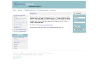taxrebate.co.uk screenshot