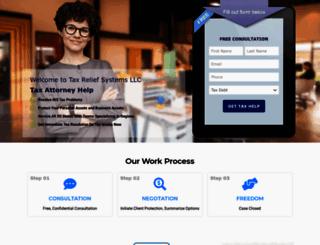 taxreliefsystemsllc.com screenshot