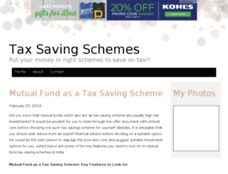 taxsavingschemes.bravesites.com screenshot