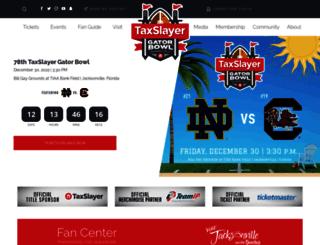 taxslayerbowl.com screenshot