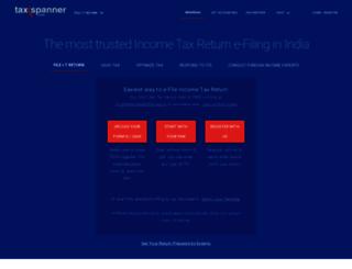 taxspanner.com screenshot