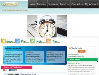 taxsquire.com screenshot