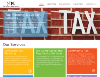 taxsupportng.com screenshot