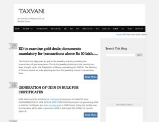 taxvani.com screenshot
