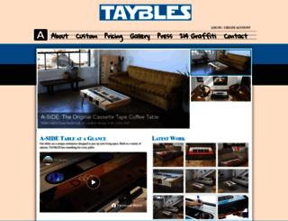 taybles.com screenshot