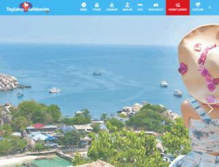 taylandgezgini.com screenshot