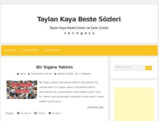 taylankaya.net screenshot