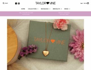taylorandvine.com screenshot