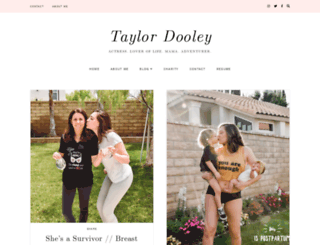 taylordooley.com screenshot