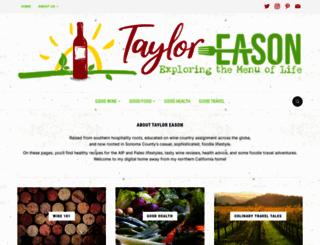 tayloreason.com screenshot