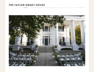 taylorgradyhouse.com screenshot