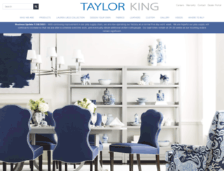 taylorking.com screenshot