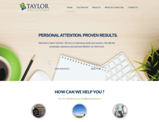 taylorsolicitors.ie screenshot