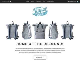 taylortailor.com screenshot