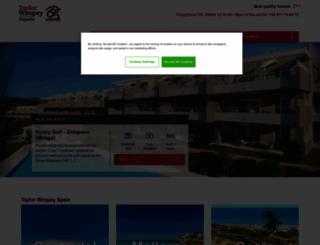 taylorwimpey.es screenshot