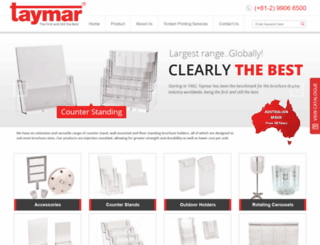taymar.com.au screenshot