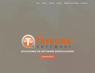 tayronasoftware.com screenshot