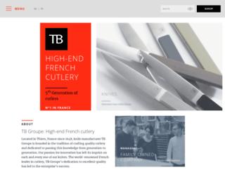 tb-haute-coutellerie.com screenshot